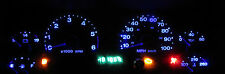 Jeep Wrangler TJ 1997 - 2006  Super Blue LED Dash Light Kit 194 74 T10 T5