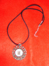 Gothic Castle Necklace Medallion Medieval Knight Fancy Dress Costume
