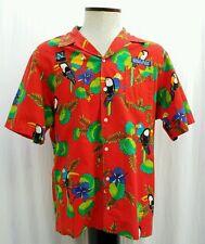 Vtg 90s Scorpio Shirt XL Tropical Magnum PI Hawaiian Netscape Morgan Stanley