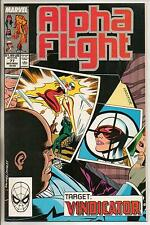 Marvel Comics Alpha Flight #77 Mid November 1989 NM-