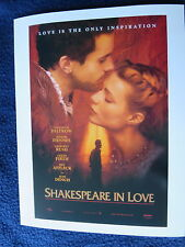 SHAKESPEARE IN LOVE Oscar Best Picture Winner 1998 Paltrow Fiennes Rush Firth