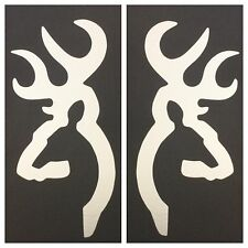 2 BROWNING DEER DECAL STICKER 15 COLORS CAR FORD CHEVY DODGE VW HONDA HUNTING