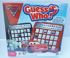 NEW SEALED GAME DISNEY PIXAR CARS 2 CREW GUESS WHO KIDS MAX NIGEL RAOUL SHU 6+