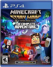 Minecraft: Story Mode The Complete Adventure (PlayStation 4, 2016) *New&Sealed*