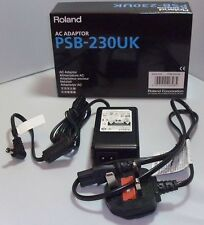 Roland PSB1U 9V AC 2000mA (2amp) Power Supply Boss PSB230UK - Inc Figure 8 Lead