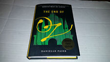 The End of Oz by Danielle Paige (2017, Hardcover) SIGNED 1st/1st