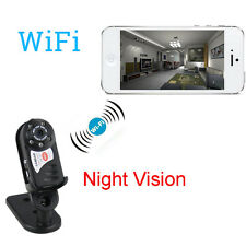 Mini P2P WiFi IP Camera Home Indoor Outdoor HD DV Hidden Spy Remote Camera UK