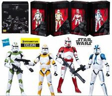 Star Wars The Black Series Clone Troopers of Order 66 6 Inch Action Figure Set