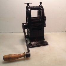 VHTF Antique M A SPENCER & CO Dental Rolling Roller Mill Cincinnati Ohio RARE