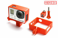 Frame Mount Tripod Mount f. GoPro HD HERO 3+ Black Zubehör Stativ Adapter Red