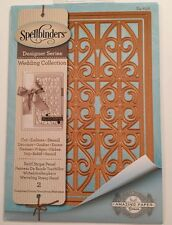 Spellbinders Designer Series Wedding Collection Swirl Stripe Panel S4-656