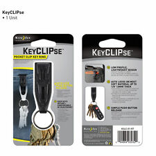 NITE IZE KeyCLIPse pocket clip key ring - KSLC-01-R7 - holds keys securely