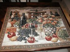 """Table for Two"" Wall Tapestry- 53.5"" x 39"" from Riddle Home & Gift made in USA"