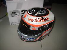 FERNANDO ALONSO 2007 ARAI HELMET 1:2 SCALE - SIGNED ON HELMET + PHOTO PROOF