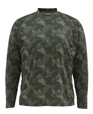Simms SOLARFLEX Long Sleeve Crewneck ~ NEW Simms Camo ~ 2XL ~ CLOSEOUT