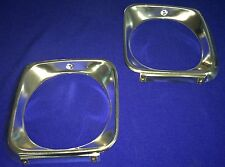 HOLDEN TORANA BATHURST JP LJ GTR XU1 ALUMINIUM HEAD LIGHT  SURROUNDS