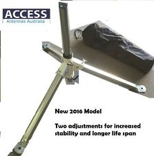 Caravan Tripod with bag and spirit level suitable for 80cm satellite dish