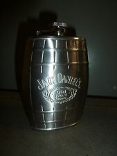 STAINLESS STEEL 6 OZ JACK DANIELS OLD NO.7 BRAND FLASK