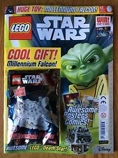 Sold Out LEGO STAR WARS MAGAZINE UK Issue #7 With Mini Millennium Falcon Unread