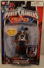 """Power Rangers S.P.D. SPD Space Police - 6"""" Commander Doggy Cruger Light Up (MOC)"""