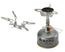 SOTO WINDMASTER STOVE BUTANE/PROPANE CAMPING BURNER WITH TRIFLEX + 4FLEX SUPPORT