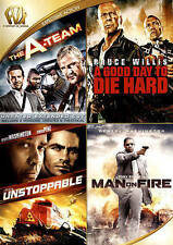 The A-Team/A Good Day to Die Hard/Unstoppable/Man on Fire (DVD, 2015)