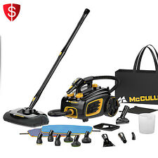 Portable Carpet Steam Cleaner Floor Steamer Steamvac Cleaning Canister System