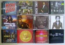 Bulk Lot CD 12 CDs Classics Soul, RnB Hip Hop Dance