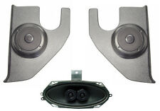 Dash Speakers & Kick Panels For Stereo Radio Custom Fit 67-72 Chevy Truck w/ A/C