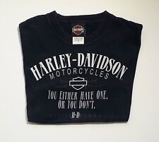 Harley Davidson Motorcycles T Shirt Small Chillicothe Ohio