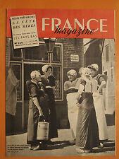 FRANCE magazine 144 du 14/5/1950-Visite royale au Pays-Bas-La fête des mères