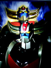 GOLDRAKE GRENDIZER MAZINGA JEEG UFO ROBOT METAL HORNS GOLD LIMITED EDITION