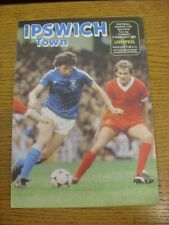 02/02/1982 Football League Cup Semi-Final: Ipswich Town v Liverpool  . Thank you