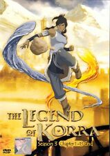 Avatar The Legend of Korra ( Season 3 Episode 1-13 END ) DVD English Version