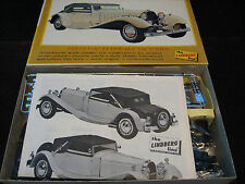 MINT Vintage Orig '31 Bugatti Royale Model/Kit 1966 Lindberg USA Rare Collector!