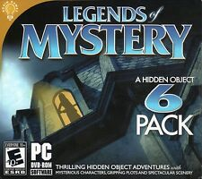Legends Of Mystery PC Games Window 10 8 7 Vista Computer hidden object seek find