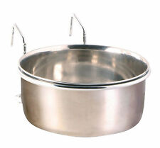 Trixie Clip On Stainless Steel Bowl With Holder 150ml, 7cm