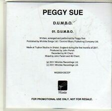 (CI401) Peggy Sue, Dumbo - 2011 DJ CD