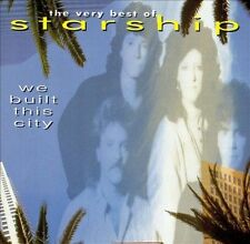 STARSHIP - We Built This City - Very Best Of Australia CD Grace Slick