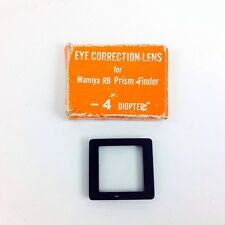 Mamiya 514589 -4 Diopter Eye Correction Lens for RB67 Prism Finder #49570