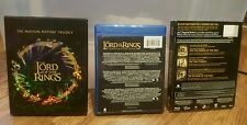 The Lord of the Rings: The Motion Picture Trilogy (Blu-ray Disc, 6-Disc Set) EUC