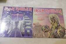 "IRON MAIDEN ""Maiden Hell"" Promo Only CD/CDRom Set.  2  SEALED.(Raw Power 1998)"