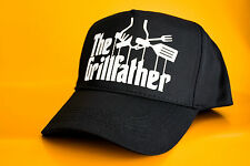 The GRILLFATHER Funny Novelty Printed BASEBALL CAP Hat Grill Father BBQ Barbecue
