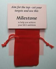 Una pietra miliare, un Gemstone Novità Regalo-per aiutare a raggiungere la tua vita dell' ambizione