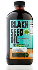 Black Seed Oil Cold Pressed Non GMO Omega 3 16 oz. Made In The USA Sweet Sunnah