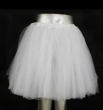 NEU! Tütü Tutu Tüllrock Ballettkleid Frauen Kinder Damen 5 Lagen S-XL Party