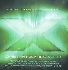 X 2009: 17 Christian Rock Hits by Various Artists (CD, Apr-2009, 2 Discs,...
