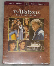 The Waltons Complete Season 9 Ninth - DVD Box Set - Region 2 - NEW SEALED