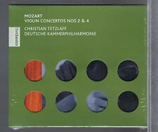 MOZART CD NEW VIOLIN CONCERTOS 2 & 4 CHRISTIAN TETZLAFF