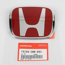 Authentic JDM Honda Civic Type-R Front Emblem FD2 2007-2010, 75700-SNW-003
